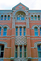Austin: The Driskill Hotel, portion of facade.