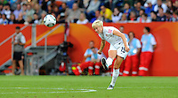 Megan Rapinoe of team USA during the FIFA Women's World Cup at the FIFA Stadium in Sinsheim, Germany on July 2nd, 2011.