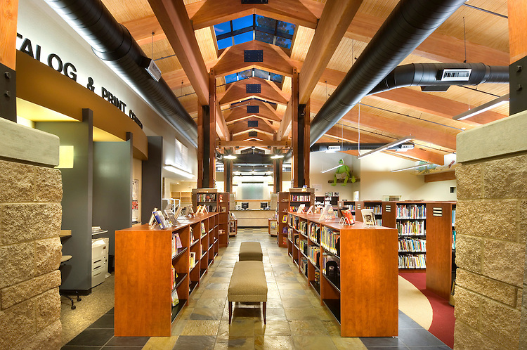 Incline Village Library.H+K Architects