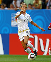 USA's Kristie Mewis during the FIFA U20 Women's World Cup at the Rudolf Harbig Stadium in Dresden, Germany on July 14th, 2010.