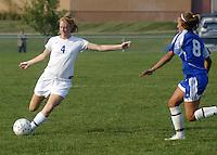 Girls Soccer vs Chatard 9-22-08