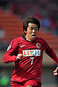 Toru Araiba (Antlers), APRIL 19, 2011 - Football : AFC Champions League 2011 Group H, between Kashima Antlers 1-1 Suwon Samsung Bluewings at National Stadium, Tokyo, Japan. The game started at 2pm on Tuesday afternoon in Tokyo as Kashima are unable to use their home stadium as a result of the earthquake and tsunami that hit the east coast of Japan on March 11th 2011 and due to the ongoing nuclear crisis in Fukushima which has reduced the electricity supply to the region meaning that floodlit night games cannot be justified. (Photo by Jun Tsukida/AFLO SPORT) [0003]