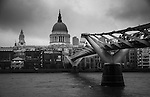 St Paul's Cathedral - London photograph by Christopher Holt.