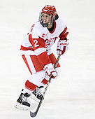 Britt Hergesheimer (BU - 2) - The Northeastern University Huskies tied Boston University Terriers 3-3 in the 2011 Beanpot consolation game on Tuesday, February 15, 2011, at Conte Forum in Chestnut Hill, Massachusetts.