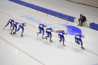 SCHAATSEN: HEERENVEEN: 15-09-2014, IJsstadion Thialf, Topsporttraining, Team NewBalance, ©foto Martin de Jong