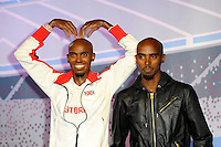 APR 14 Mo Farah new waxworks