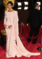 HOLLYWOOD, CA, USA - MARCH 02: Camila Alves at the 86th Annual Academy Awards held at Dolby Theatre on March 2, 2014 in Hollywood, Los Angeles, California, United States. (Photo by Xavier Collin/Celebrity Monitor)