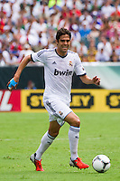 Kaka (8) of Real Madrid. Real Madrid defeated Celtic F. C. 2-0 during a 2012 Herbalife World Football Challenge match at Lincoln Financial Field in Philadelphia, PA, on August 11, 2012.
