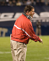 21 October 2006: Rutgers head coach Greg Schiano..The Rutgers Scarlet Knights defeated the Pitt Panthers 20-10 on October 21, 2006 at Heinz Field, Pittsburgh, Pennsylvania.