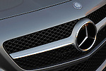 Grill and nose detail of the 2013 Mercedes-Benz SL550 Roadster