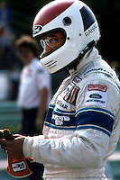 ELKHART LAKE, WI - AUGUST 21: Bobby Rahal in the pit lane during practice for the Budweiser 500 on August 21, 1983, at Road America near Elkhart Lake, Wisconsin.
