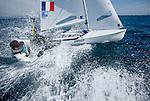 ISAF Sailing World Cup Hy&egrave;res - F&eacute;d&eacute;ration Fran&ccedil;aise de Voile. 470, Guillaume Pirouelle<br /> Valentin Sipan.