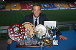 St Johnstone Player of the Year Awards 2014-15.....16.05.15<br /> Chris Millar who cleaned up at this years Player of the Year Awards<br /> Picture by Graeme Hart.<br /> Copyright Perthshire Picture Agency<br /> Tel: 01738 623350  Mobile: 07990 594431