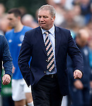 Ally McCoist biting his lip