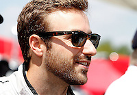 James Hinchcliffe, IMSA Tudor Series Race, Road America, Elkhart Lake, WI, August 2014.  (Photo by Brian Cleary/ www.bcpix.com )