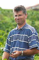 Jean-Paul Dubost. Domaine Tracot Dubost, Beaujolais, France