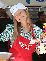 LOS ANGELES, CA - April 14: Marci Miller, At Los Angeles Mission's Easter Celebration For The Homeless At Los Angeles Mission  In California on April 14, 2017. <br /> CAP/MPI/FS<br /> &copy;FS/MPI/Capital Pictures