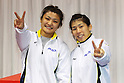 (L to R) Kaori Icho (JPN), Saori Yoshida, December 23, 2011 - Wrestling : All Japan Wrestling Championship at 2nd Yoyogi Gymnasium, Tokyo, Japan. (Photo by Daiju Kitamura/AFLO SPORT) [1045]
