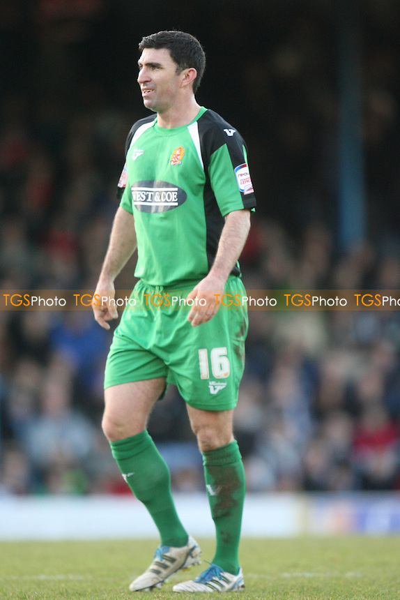 Kevin Maher of Dagenham and Redbridge - Southend vs Dagenham - at the Roots Hall Stadium - 02/01/12 - MANDATORY CREDIT: Dave Simpson/TGSPHOTO - Self billing applies where appropriate - 0845 094 6026 - contact@tgsphoto.co.uk - NO UNPAID USE.