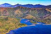 Embouchure de la Tiwaka, côte Est de la Nouvelle-Calédonie