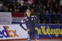 SCHAATSEN: CALGARY: Olympic Oval, 08-11-2013, Essent ISU World Cup, 500m, Kang-Seok Lee (KOR), ©foto Martin de Jong