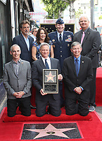 HOLLYWOOD, CA - April 17: Joe Mantegna, Patricia Heaton, USAF General Robin Rand, Jeff Zarrinnam, Leron Gubler, Gary Sinise, At Gary Sinise Honored With Star On The Hollywood Walk Of Fame At The Hollywood Walk Of Fame  In California on April 17, 2017. <br /> CAP/MPI/FS<br /> &copy;FS/MPI/Capital Pictures