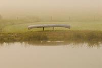Canoe by Pond