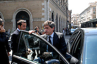 Rome May 7 2008.The mayor of Rome Gianni Alemanno