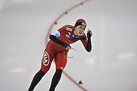 SPEED SKATING: SALT LAKE CITY: 20-11-2015, Utah Olympic Oval, ISU World Cup, 500m Ladies, Jing Yu (CHN), ©foto Martin de Jong