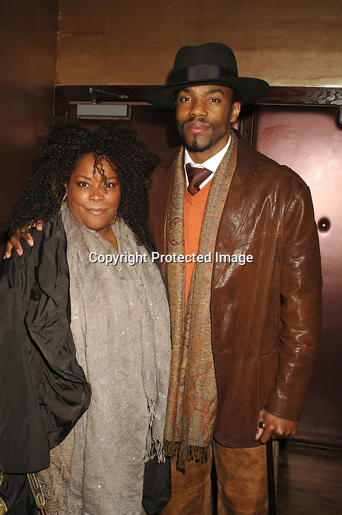 Tobias Truvillion and Penwah..at The One Life To Live Christmas Party on December 11, 2006 at Venue in New York, ..Robin Platzer, Twin Images