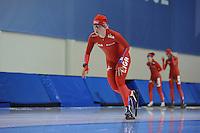 SCHAATSEN: SALT LAKE CITY: Utah Olympic Oval, 13-11-2013, Essent ISU World Cup, training, Thijsje Oenema (NED), ©foto Martin de Jong