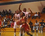 Lafayette High vs. Horn Lake in girls high school basketball in Oxford, Miss. on Wednesday, December 29, 2010.