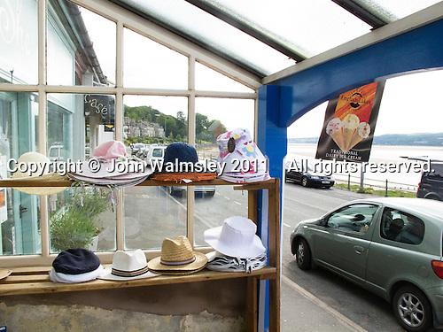 Tourist shop, Arnside, Lancashire, UK.