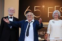 Georges Lautner - 65th Cannes Film Festival