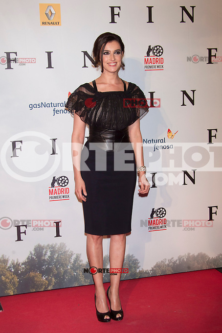Blanca Romero attends 'FIN' Premiere at Callao Cinema in Madrid on november 20th 2012...Photo: Cesar Cebolla / ALFAQUI.. /Alter/NortePhoto