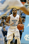 30 December 2015: North Carolina's Joel Berry II. The University of North Carolina Tar Heels hosted the Clemson University Tigers at the Dean E. Smith Center in Chapel Hill, North Carolina in a 2015-16 NCAA Division I Men's Basketball game. UNC won the game 80-69.