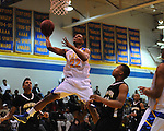 Oxford High's Justin Fondren (22) vs. New Hope at Oxford High School in high school boys basketball action Oxford, Miss. on Friday, January 6, 2012.