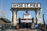 Hyde Street Pier in San Francisco