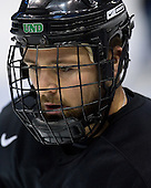 Chris Porter (University of North Dakota - Thunder Bay, ON) takes part in the Fighting Sioux Wednesday practice on April 4, 2007 at the Scottrade Center in St. Louis, Missouri, prior to their Thursday 2007 Frozen Four Semi-Final.