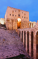 Citadel of Aleppo, Syria