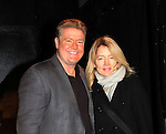 Michael O'Leary & Cynthia Watros star in Breathing Under Dirt - A New Play by Guiding Light's Michael O'Leary and directed by Larry Moss with an industry reading on January 24, 2017 at Cherry Lane Theater, New York City, New York. Starring Cynthia Watros and Michael O'Leary.  (Photo by Sue Coflin/Max Photos)