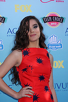 LOS ANGELES - AUG 11:  Hailee Steinfeld at the 2013 Teen Choice Awards at the Gibson Ampitheater Universal on August 11, 2013 in Los Angeles, CA