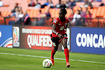 20 October 2014: Kennya Cordner (TRI). The Trinidad & Tobago Women's National Team played the Guatemala Women's National Team at RFK Memorial Stadium in Washington, DC in a 2014 CONCACAF Women's Championship Group A game, which serves as a qualifying tournament for the 2015 FIFA Women's World Cup in Canada. Trinidad and Tobago won the game 2-1 to secure advancement to the semifinals.