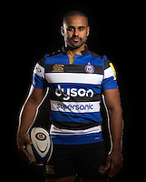 Aled Brew poses for a portrait at a Bath Rugby photocall. Bath Rugby Photocall on November 22, 2016 at Farleigh House in Bath, England. Photo by: Rogan Thomson / JMP / Onside Images