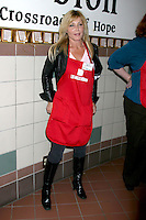 Pamela Bach Hasselhoff at the LA Mission Thanksgivng Feeding of the Homeless in    Los Angeles, CA.November 26, 2008.©2008 Kathy Hutchins / Hutchins Photo....