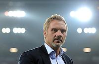 FUSSBALL   1. BUNDESLIGA  SAISON 2012/2013   9. Spieltag FC Augsburg - Hamburger SV           26.10.2012 Trainer Thorsten Fink (Hamburger SV)