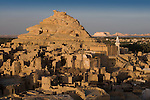 The 13th century mud-brick fortress of Shali, in Siwa Town of the Siwa Oasis, near the Libyan border in Egypt.