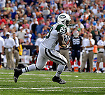 30 September 2007: New York Jets running back Leon Washington rushes for a touchdown in the fourth quarter against the Buffalo Bills at Ralph Wilson Stadium in Orchard Park, NY. The Bills defeated the Jets 17-14 handing the Jets their third loss of the season...Mandatory Photo Credit: Ed Wolfstein Photo
