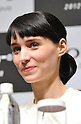 "Rooney Mara, JANUARY 31, 2012: Rooney Mara attends press conference for the film ""The girl with the dragon tattoo"" at Tokyo Mid Town, Tokyo, Japan. (Photo by Atsushi Tomura/AFLO) [1035]"