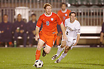 14 November 2008: Virginia's Matt Poole (3). The University of Virginia defeated Wake Forest 3-2 in two overtimes at WakeMed Stadium at WakeMed Soccer Park in Cary, NC in a men's ACC tournament semifinal game.